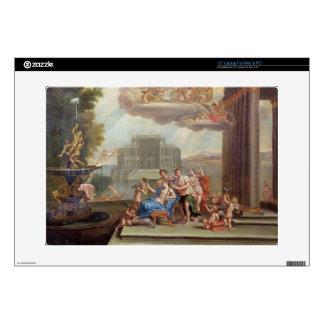 "The Toilet of Venus, 18th century 15"" Laptop Decal"