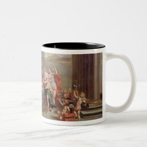 the toilet of venus 18th century two tone coffee mug zazzle