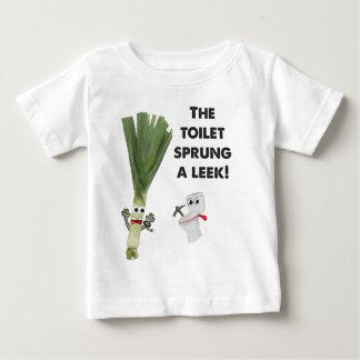 The Toilet Sprung a Leek Baby T-Shirt