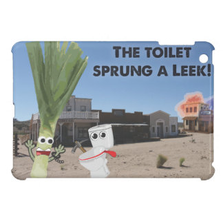 The Toilet Sprung a Leek! Case For The iPad Mini