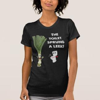 The Toilet Sprung a Leek T-Shirt