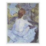The Toilette, 1889 Henri De Toulouse-Lautrec Poster