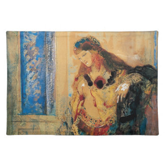 The Toilette by Gustave Moreau Place Mat