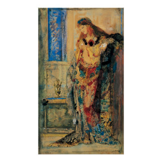 The Toilette by Gustave Moreau Poster