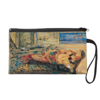 The Toilette by Gustave Moreau Wristlet Purse