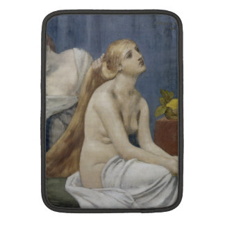 The Toilette by Puvis de Chavannes MacBook Air Sleeve