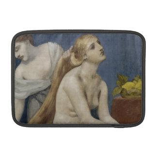 The Toilette by Puvis de Chavannes MacBook Sleeve