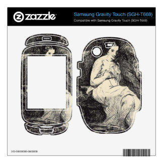 The Toillette by Edouard Manet Samsung Gravity Touch Skins