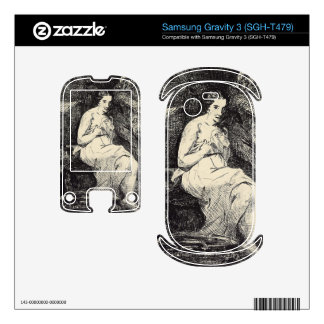 The Toillette by Edouard Manet Samsung Gravity 3 Decal