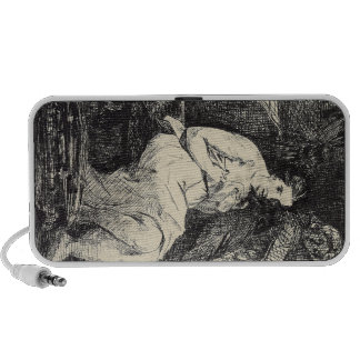 The Toillette by Edouard Manet Travel Speakers