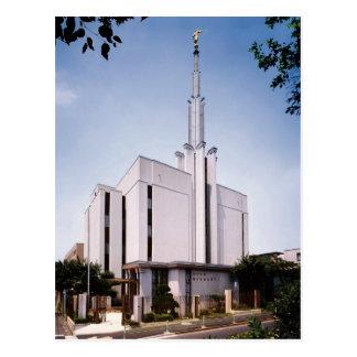 The Tokyo Japan LDS Temple Postcard