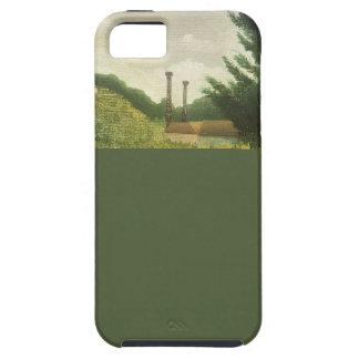 The Toll House by Henri Rousseau iPhone SE/5/5s Case