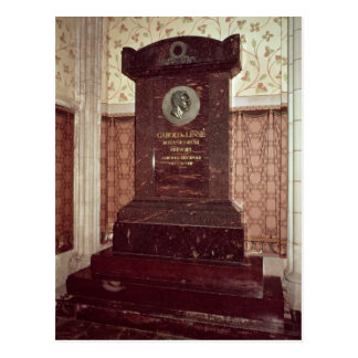 The tomb of Carl Linnaeus Postcard