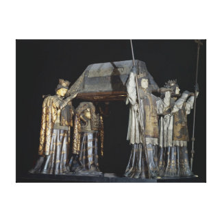 The tomb of Christopher Columbus Canvas Print