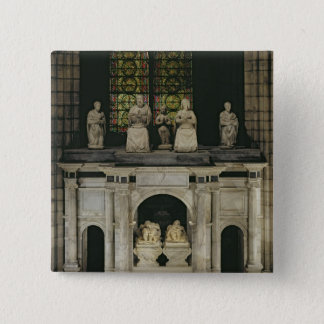 The Tomb of Francois I  and Claude of France Button