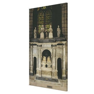 The Tomb of Francois I  and Claude of France Canvas Print