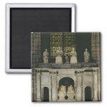 The Tomb of Francois I  and Claude of France Fridge Magnets