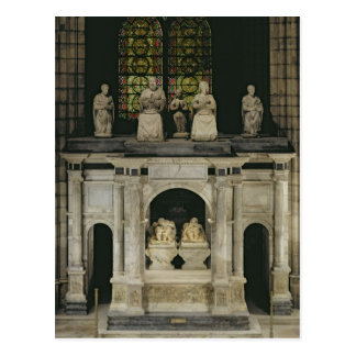 The Tomb of Francois I and Claude of France Post Card