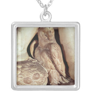 The Tomb of Giuliano de Medici Silver Plated Necklace