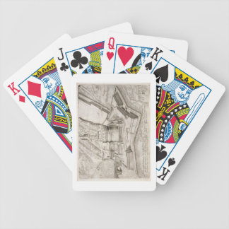 The Tomb of Hadrian, from 'Cosmo Medici Duci flore Bicycle Playing Cards