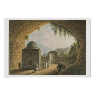 The Tomb of Jeremiah, pub. by William Watts, 1801 Poster