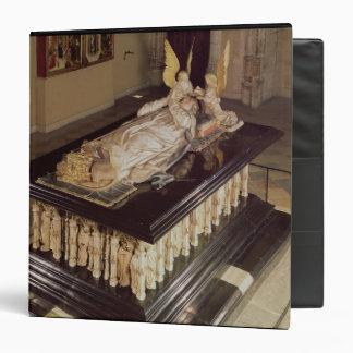 The tomb of Philip the Bold Duke of Burgundy 3 Ring Binder