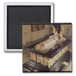 The tomb of Philip the Bold Duke of Burgundy Refrigerator Magnet