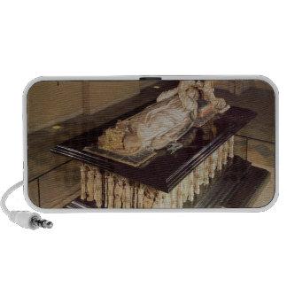 The tomb of Philip the Bold Duke of Burgundy Portable Speaker