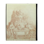 The Tomb of Pope Urban VIII (1568-1644) by Gianlor iPad Folio Cover