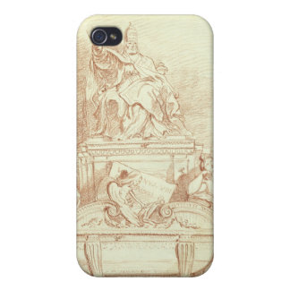 The Tomb of Pope Urban VIII (1568-1644) by Gianlor Cases For iPhone 4