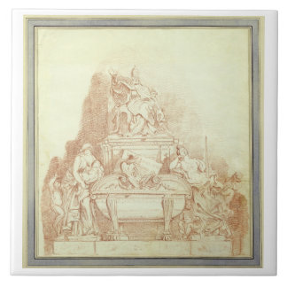The Tomb of Pope Urban VIII (1568-1644) by Gianlor Ceramic Tile