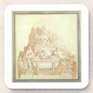 The Tomb of Pope Urban VIII 1568-1644 by Gianlor Coasters