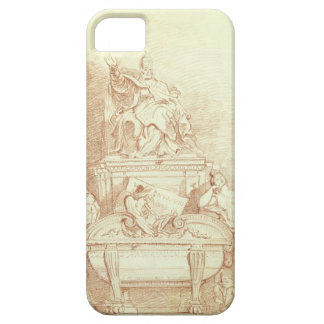 The Tomb of Pope Urban VIII (1568-1644) by Gianlor iPhone SE/5/5s Case