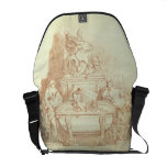 The Tomb of Pope Urban VIII (1568-1644) by Gianlor Messenger Bags