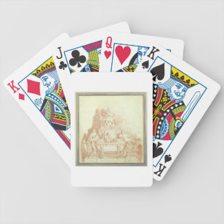 The Tomb of Pope Urban VIII (1568-1644) by Gianlor Poker Deck