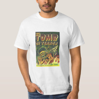 The Tomb of Terror the Trial T- shirt