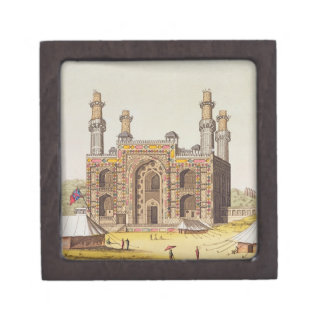 The Tomb of the Mughal emperor Akbar, from 'Le Cos Keepsake Box