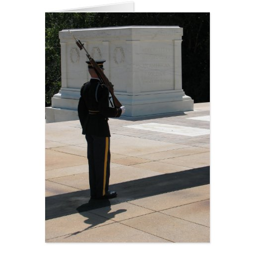 The Tomb of the Unknowns Greeting Card