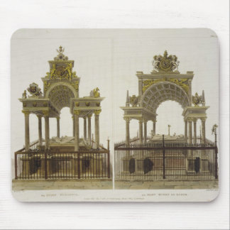 The Tombs of Queen Elizabeth I and Mary Queen of S Mouse Pad