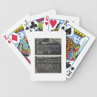 The Tombs of Queen Philippa and Queen Eleanor, pla Bicycle Card Decks