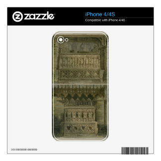 The Tombs of Richard the Second and Edward the Thi Decals For iPhone 4