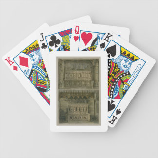 The Tombs of Richard the Second and Edward the Thi Playing Cards