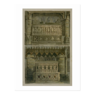 The Tombs of Richard the Second and Edward the Thi Postcard