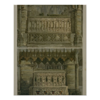 The Tombs of Richard the Second and Edward the Thi Poster