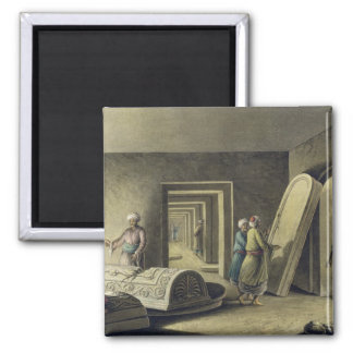 The Tombs of the Kings of Judah, Jerusalem, pub. b 2 Inch Square Magnet