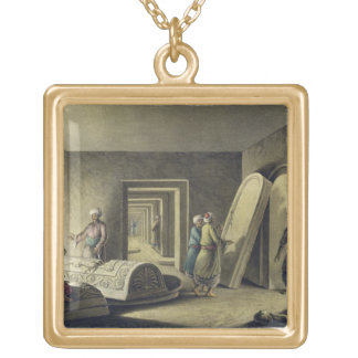The Tombs of the Kings of Judah, Jerusalem, pub. b Gold Plated Necklace