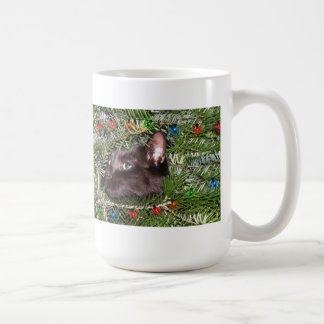 The tomcat in the Christmas tree - cup