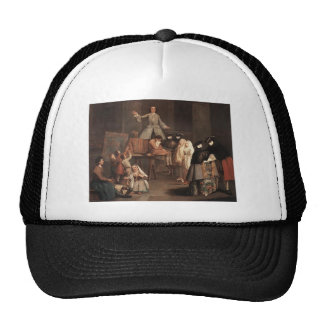 The Tooth Extractor by Pietro Longhi Hat