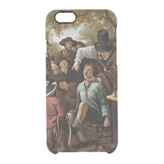 The Tooth Puller, 1651 painting Clear iPhone 6/6S Case