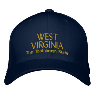 The Toothbrush State Embroidered Hat
